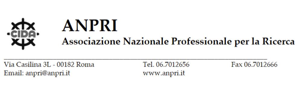 San Francisco comprare popolare marchio famoso Comunicato ANPRI 6 dicembre: al CNR passaggio di fascia anche per ...