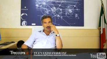 Il Presidente INFN, prof. Fernando Ferroni